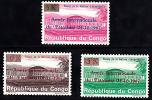 Cd0647 Congo 1968, International Tourism Year, Set Of 3 MNH - Ungebraucht