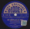 78 Trs  LES EDITIONS DIODET D. 105 D - ORCHESTRE - AUX GORGES DE LA LOIRE - AU PARC DES SPORTS - 78 Rpm - Gramophone Records
