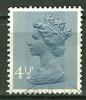 GRANDE BRETAGNE - N° YT 697a Oblit - 1952-.... (Elizabeth II)
