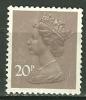 GRANDE BRETAGNE - N° YT 785 Oblit - 1952-.... (Elizabeth II)