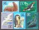 Russia  4679-83  **  FAUNA   POLAR  ANTARCTIC - Antarctic Wildlife