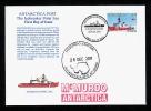 Antarctia Post Ice Breaker Polar Sea FDC 2011 - Unclassified
