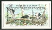 "Christmas Islands     ""Birds""   Souvenir Sheet (Overprinted In Purple)  SC# 274d  MNH** - Christmas Island"