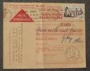 CONTRE REMBOURSEMENT - 1956 - OBLITERATION - GIPCY - ALLIER - - Francia