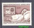 Austria 1972 Mi 1386 Mnh - Medicine - Médecine