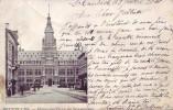 SCHAERBEEK = Hôtel De Ville (écrite) 1901 + Pub Marbrerie Au Verso - Schaarbeek - Schaerbeek