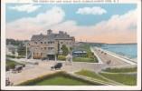 CPA - (Etats-Unis) Narragansett Pier - The Green Inn And Ocean Road - Etats-Unis