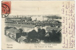Odessa Das Centrum Des Hafens    Postally Used  Ukrania 1905 To Rosey Rase Hte Saone - Ukraine