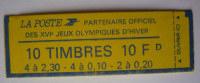FRANCE  CARNET 1502 TYPE MARIANNE DE BRIAT A COMPOSITION VARIABLE N** - Booklets