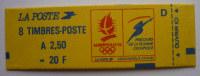FRANCE  CARNET 2715 C1 TYPE MARIANNE DE BRIAT 8 T 0à 2.50 Frs N** - Markenheftchen