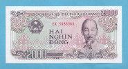 VIETNAM* 2.000 DONG*1988*FDC* UNC* - Vietnam