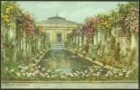 """Winter Gardens & Pavilion, Weston-Super-Mare"",   A C1950  Salmon Postcard (no 3339),  By  'A R Quinton'. - Weston-Super-Mare"