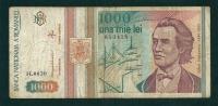 N.  1 Banconota  Da 1000  LEVI -   ROMANIA   -  Anno 1999. - Rumania