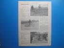 Course De Motocyclettes (1904) Au Vélodrome Du Parc Des Princes, Organisé Par Le Journal L'AUTO - Documents Historiques