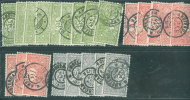 Nederland  N° 70/72  Assortiment - 1891-1948 (Wilhelmine)
