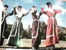 TURCHIA  ERZURUM COSTUMI EKIBI DANCE  DANZE  FOLK N1970 DP6630 - Turchia