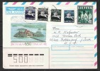 Lithuania  1991  Collector Made Cover     5 Diff  Stamps - Lituania