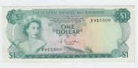 Bahamas 1 Dollar 1974 XF Crisp Banknote P 35a 35 A - Bahamas