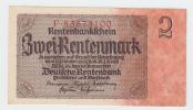 Germany 2 Rentenmark 1937 AUNC CRISP P 174b  174 B - Sin Clasificación