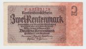 Germany 2 Rentenmark 1937 AUNC CRISP P 174b  174 B - Ohne Zuordnung
