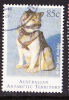 1994. Australian Antarctic Territory. The Last Huskies. 85c. Husky Sitting. FU. - Australian Antarctic Territory (AAT)