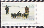 1994. Australian Antarctic Territory. The Last Huskies. 75c. Husky Team. FU. - Australian Antarctic Territory (AAT)