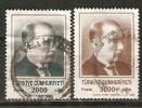 Turkey 1989  Ataturk   (o) Mi.2862-2863 - 1921-... Republic