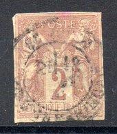 Colonies Générales  Allgemeine Kolonialausgabe Y&T 38° - Sage