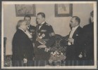BELGRAD February 1940 - Balkan Conference - Mr METAXAS - Mr GAFENCU - Mr SARACOGLU - Guerre, Militaire