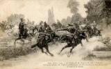 Guerre 1914 (illustration Allégorique) Cpa TBE, écrite(voir Scan) à Lyon Pour Entraigues 38 - Militaria