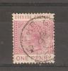 GRENADA - 1883 VICTORIA 1d PALE CARMINE USED   SG 31 - Grenada (...-1974)