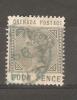GRENADA - 1883 VICTORIA 4d GREY-SLATE USED   SG 33 - Grenada (...-1974)