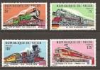Trains Locomotives  MNH** Niger  YT 316/19 - Trenes