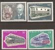 Trains Locomotives  MNH** Niger  YT 286/89 Rudolf Diesel - Eisenbahnen