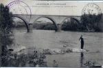 63 - PONT-du-CHATEAU - Le Pont Du Chemin De Fer - Animée - VDC - Pont Du Chateau