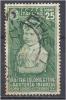 ITALY 1937 CHILD WELFARE 25c. Green FU - Used
