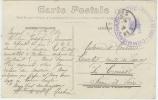 """18 Bourges Cachet FM""""commission Militaire De Gare*gare De Bourges//république Française - Postmark Collection (Covers)"""