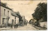 Dpt 56 Guer La Roche, Petit Commerce Du Bourg Animée 1918 EV EC Carte Venant Des Usa - Guer Coetquidan