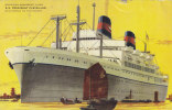 Ship American President Lines S.S. President Cleveland California To The Orient 1957 - Dampfer