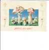 Married And Happy Mushroom People Child Fantasy 1911 - Marriages