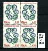 50° Annivers. ROTARY ITALIANO - Quartina - 1973 - 50 Lire - Nuova - New . - 6. 1946-.. Repubblica