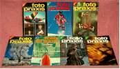 7 Zeitschriften FOTO PRAXIS Heft 1 Bis 7 , Der Kreative Weg Zum Besseren Foto , Von 1981- 1982 - Hobbies & Collections