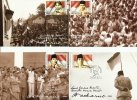 Indonesia: Set Of Five Postcards ´Bung Karno´ - 2001 - Indonesien