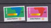 NATIONS  UNIES  NEW-YORK  1973       N° 233 - 234      NEUFS**   CATALOGUE YVERT - New York -  VN Hauptquartier