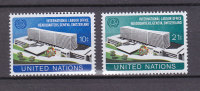 NATIONS  UNIES  NEW-YORK  1974       N° 237 - 238      NEUFS**   CATALOGUE YVERT - New York -  VN Hauptquartier