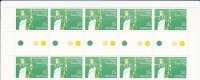 Australia-1982 Commonwealth Games 27c  Archery Gutter Strip    MNH - Blocks & Sheetlets