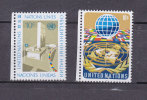NATIONS  UNIES  NEW-YORK  1974       N° 243 - 244      NEUFS**   CATALOGUE YVERT - New York -  VN Hauptquartier