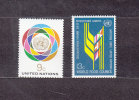 NATIONS  UNIES  NEW-YORK  1976      N° 271 - 272     NEUFS**   CATALOGUE YVERT - New York -  VN Hauptquartier