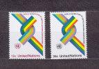 NATIONS  UNIES  NEW-YORK  1976      N° 263 - 264     NEUFS**   CATALOGUE YVERT - New York -  VN Hauptquartier