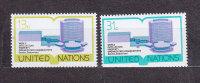 NATIONS  UNIES  NEW-YORK  1977      N° 273 - 274     NEUFS**   CATALOGUE YVERT - New York -  VN Hauptquartier